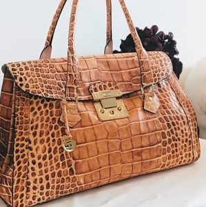 Dooney & Bourke Croc Embossed Bag